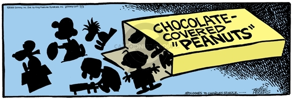 Comic Strip Mike Peters  Mother Goose and Grimm 2006-07-03 chocolate box