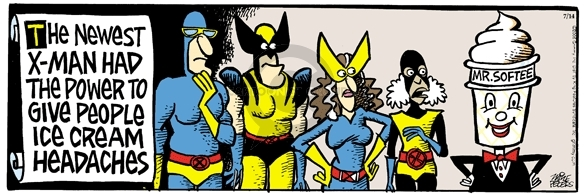Comic Strip Mike Peters  Mother Goose and Grimm 2006-07-14 superhero movie