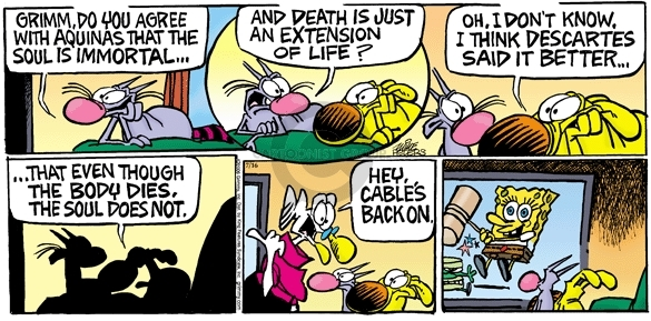 Comic Strip Mike Peters  Mother Goose and Grimm 2006-07-16 life
