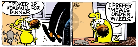 Comic Strip Mike Peters  Mother Goose and Grimm 2006-07-28 pet food
