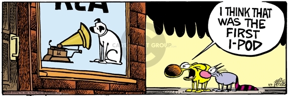 Comic Strip Mike Peters  Mother Goose and Grimm 2006-08-09 cat dog