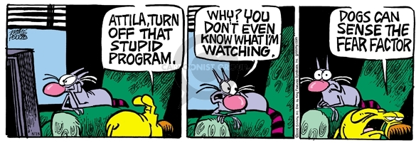 Comic Strip Mike Peters  Mother Goose and Grimm 2006-08-18 factor