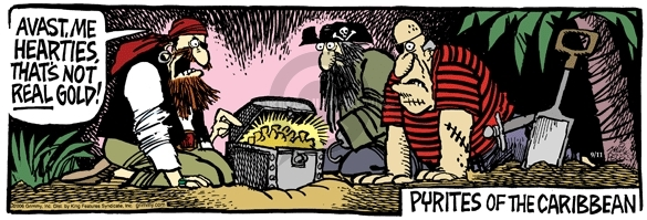 Comic Strip Mike Peters  Mother Goose and Grimm 2006-09-11 pirate