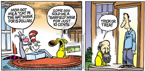 Comic Strip Mike Peters  Mother Goose and Grimm 2006-10-29 cat name