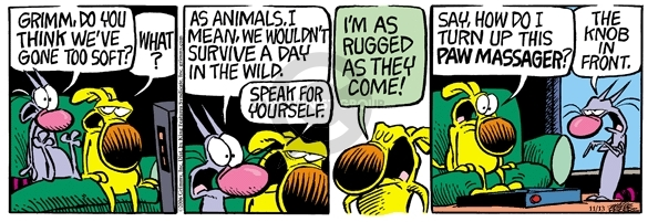 Comic Strip Mike Peters  Mother Goose and Grimm 2006-11-13 wilderness