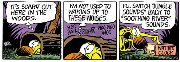 Comic Strip Mike Peters  Mother Goose and Grimm 2006-11-16 wilderness