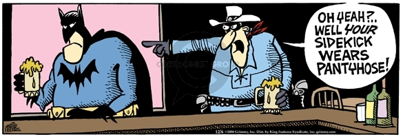 Comic Strip Mike Peters  Mother Goose and Grimm 2006-12-06 ranger