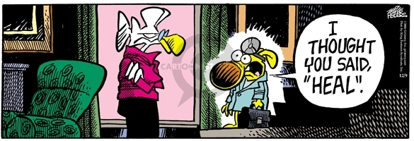 Comic Strip Mike Peters  Mother Goose and Grimm 2006-12-09 command