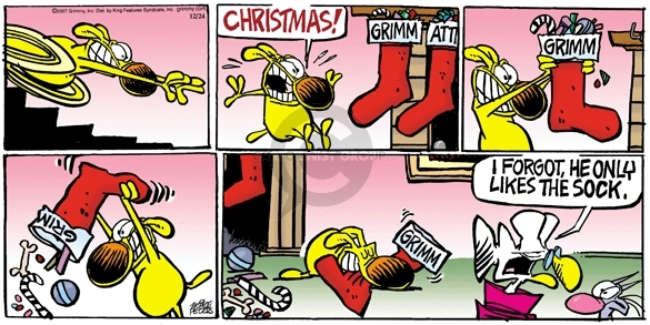 Comic Strip Mike Peters  Mother Goose and Grimm 2006-12-24 empty