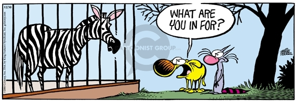 Comic Strip Mike Peters  Mother Goose and Grimm 2006-12-30 wildlife