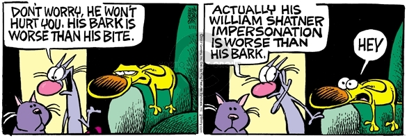 Comic Strip Mike Peters  Mother Goose and Grimm 2007-01-11 than