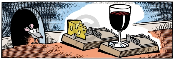 Comic Strip Mike Peters  Mother Goose and Grimm 2007-03-31 wine