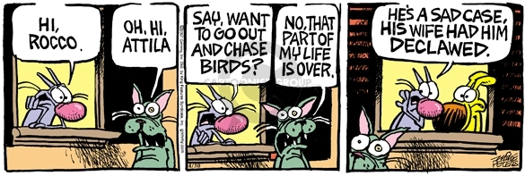 Comic Strip Mike Peters  Mother Goose and Grimm 2007-04-30 claw