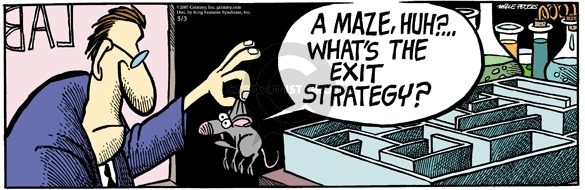 Comic Strip Mike Peters  Mother Goose and Grimm 2007-05-03 strategy