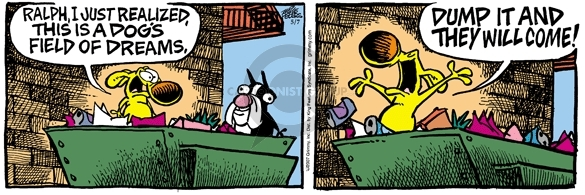 Comic Strip Mike Peters  Mother Goose and Grimm 2007-05-07 supernatural