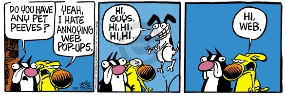 Comic Strip Mike Peters  Mother Goose and Grimm 2007-05-30 pet peeve