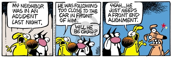 Comic Strip Mike Peters  Mother Goose and Grimm 2007-06-01 twist