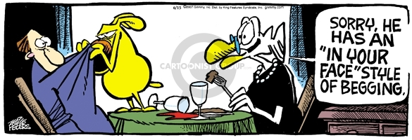 Comic Strip Mike Peters  Mother Goose and Grimm 2007-06-15 style