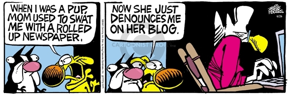 Comic Strip Mike Peters  Mother Goose and Grimm 2007-06-26 wide