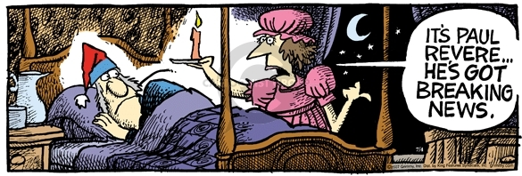 Comic Strip Mike Peters  Mother Goose and Grimm 2007-07-04 journalism