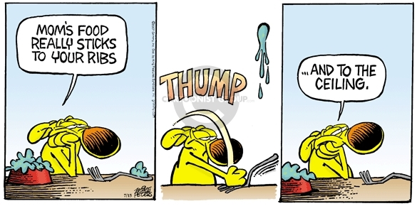 Comic Strip Mike Peters  Mother Goose and Grimm 2007-07-15 food