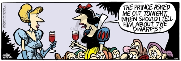Comic Strip Mike Peters  Mother Goose and Grimm 2007-09-18 Snow White