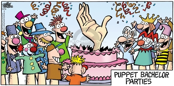 Comic Strip Mike Peters  Mother Goose and Grimm 2007-11-18 cake