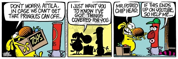Comic Strip Mike Peters  Mother Goose and Grimm 2007-11-27 YouTube