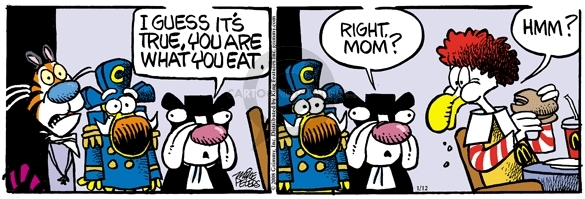 Comic Strip Mike Peters  Mother Goose and Grimm 2008-01-12 tiger
