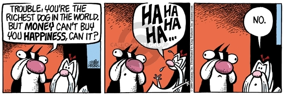 Comic Strip Mike Peters  Mother Goose and Grimm 2008-01-23 satisfaction