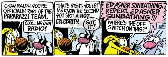 Comic Strip Mike Peters  Mother Goose and Grimm 2008-01-30 switch