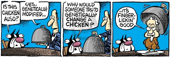 Comic Strip Mike Peters  Mother Goose and Grimm 2008-03-05 food
