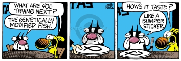 Comic Strip Mike Peters  Mother Goose and Grimm 2008-03-06 food