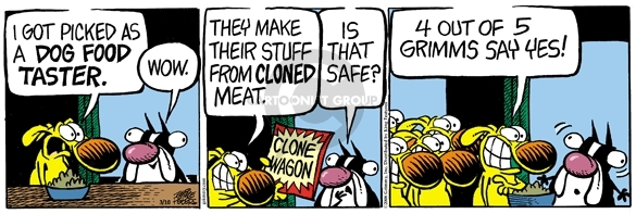 Comic Strip Mike Peters  Mother Goose and Grimm 2008-03-10 food ingredient