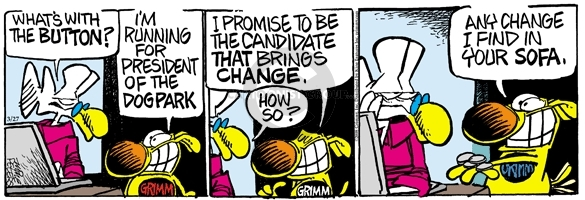 Comic Strip Mike Peters  Mother Goose and Grimm 2008-03-27 strategy