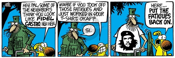 Comic Strip Mike Peters  Mother Goose and Grimm 2008-04-05 fatigue