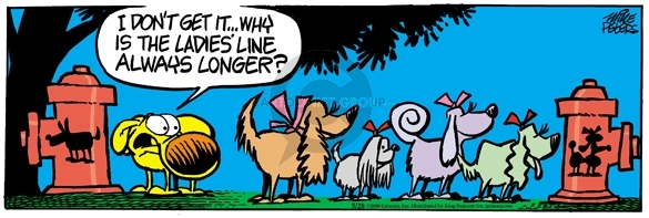 Comic Strip Mike Peters  Mother Goose and Grimm 2008-05-28 difference