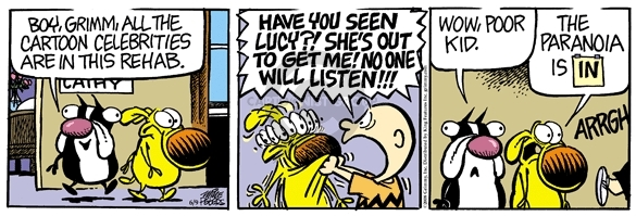 Comic Strip Mike Peters  Mother Goose and Grimm 2008-06-09 health