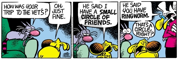 Comic Strip Mike Peters  Mother Goose and Grimm 2008-06-18 fungus