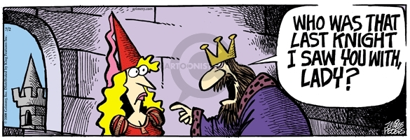 Comic Strip Mike Peters  Mother Goose and Grimm 2008-07-02 trust