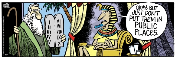 Comic Strip Mike Peters  Mother Goose and Grimm 2008-08-07 Egypt