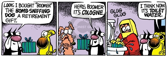 Comic Strip Mike Peters  Mother Goose and Grimm 2008-09-06 stressful