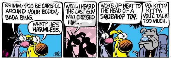 Comic Strip Mike Peters  Mother Goose and Grimm 2008-09-16 friendship