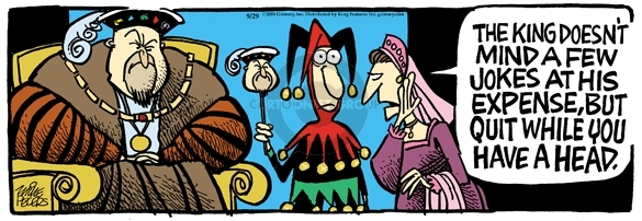 Comic Strip Mike Peters  Mother Goose and Grimm 2008-09-29 humor