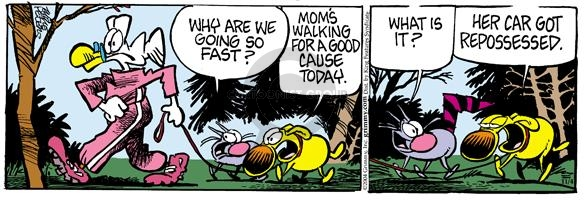 Comic Strip Mike Peters  Mother Goose and Grimm 2004-11-04 transportation