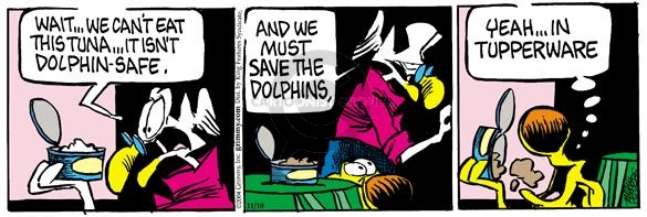 Comic Strip Mike Peters  Mother Goose and Grimm 2004-11-10 dolphin