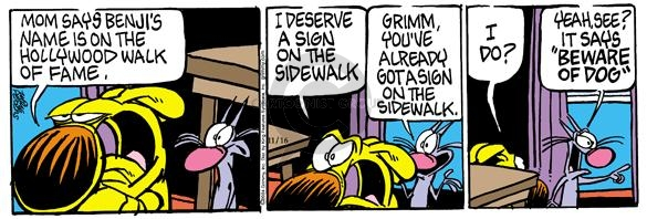 Comic Strip Mike Peters  Mother Goose and Grimm 2004-11-15 yeah