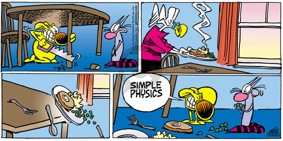 Comic Strip Mike Peters  Mother Goose and Grimm 2003-11-23 physics