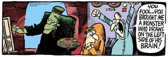 Comic Strip Mike Peters  Mother Goose and Grimm 2004-12-01 neurology