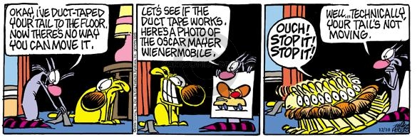 Comic Strip Mike Peters  Mother Goose and Grimm 2004-12-10 pain